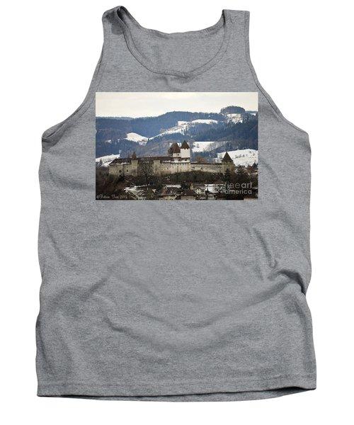 The Castle In Winter Look Tank Top