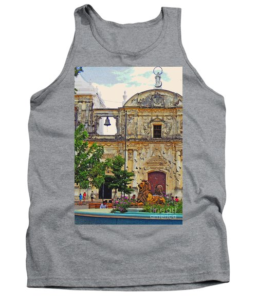 The Cathedral Of Leon Tank Top