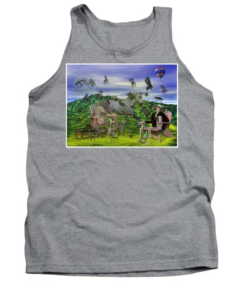 The Chairs Of Oz Tank Top