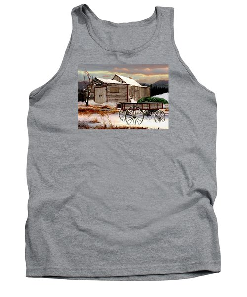 The Christmas Tree Tank Top by Ron and Ronda Chambers