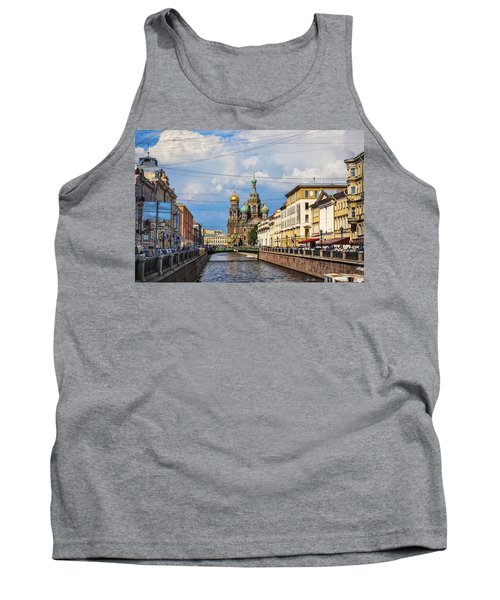The Church Of Our Savior On Spilled Blood - St. Petersburg - Russia Tank Top by Madeline Ellis