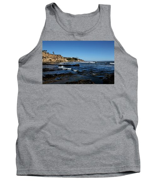 The Cliffs Of Pismo Beach Tank Top by Judy Vincent