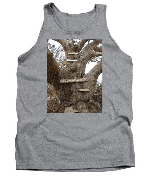 The Climbing Tree - Hurricane Katrina Survivor Tank Top by Rebecca Korpita
