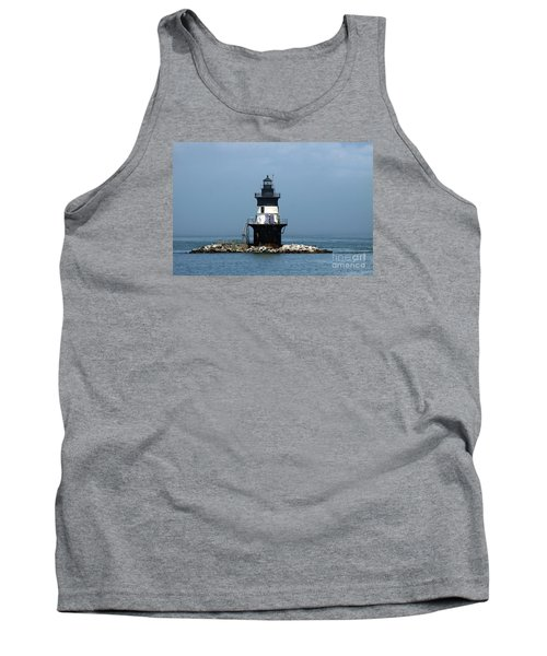 The Coffee Pot Lighthouse Tank Top by Christiane Schulze Art And Photography
