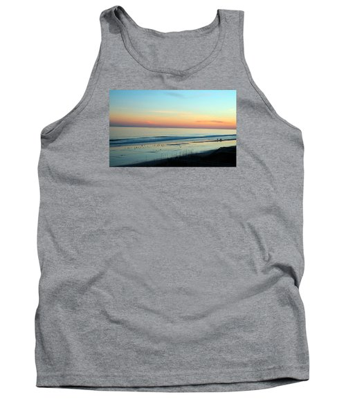 The Day Ends Tank Top