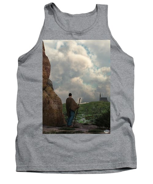The Distant Chapel Tank Top
