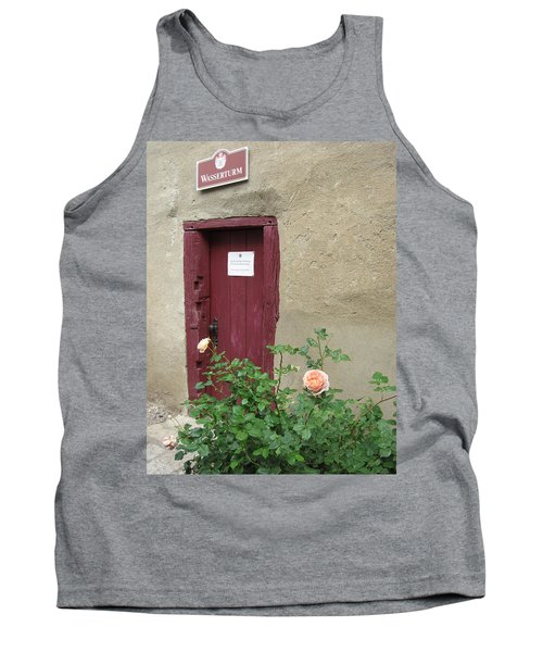 Tank Top featuring the photograph The Doorway by Pema Hou