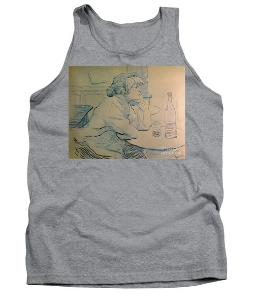 The Drinker Or An Hangover Tank Top