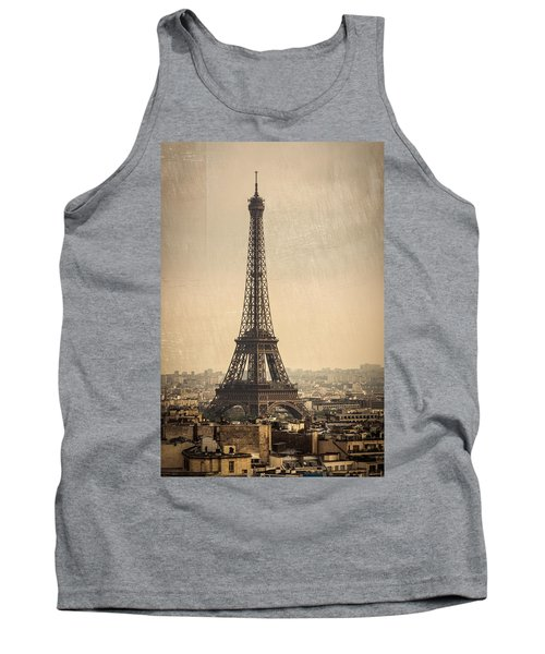The Eiffel Tower In Paris France Tank Top