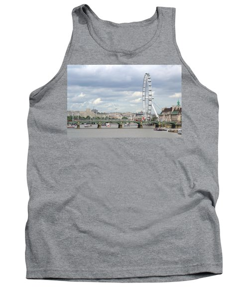 The Eye Of London Tank Top by Keith Armstrong