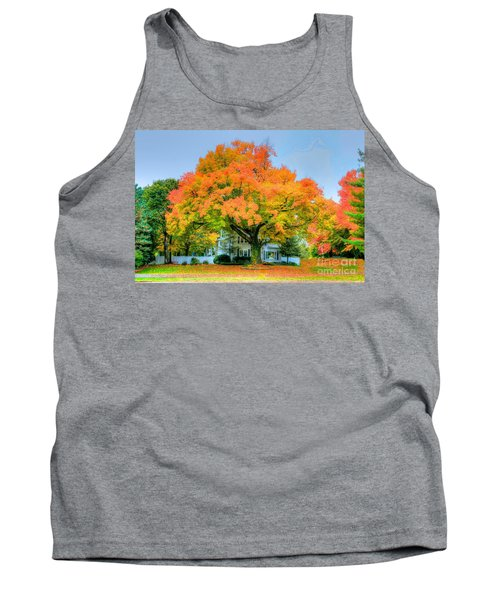 Tank Top featuring the photograph The Family Tree In Autumn by Robert Pearson