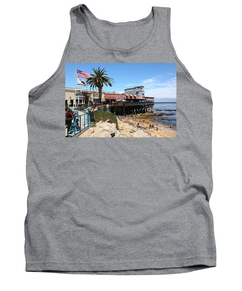 The Fish Hopper Restaurant And Monterey Bay On Monterey Cannery Row California 5d25046 Tank Top