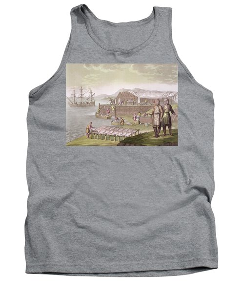 The Fishing Industry In Newfoundland Tank Top