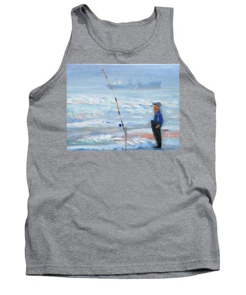 The Fishing Man Tank Top
