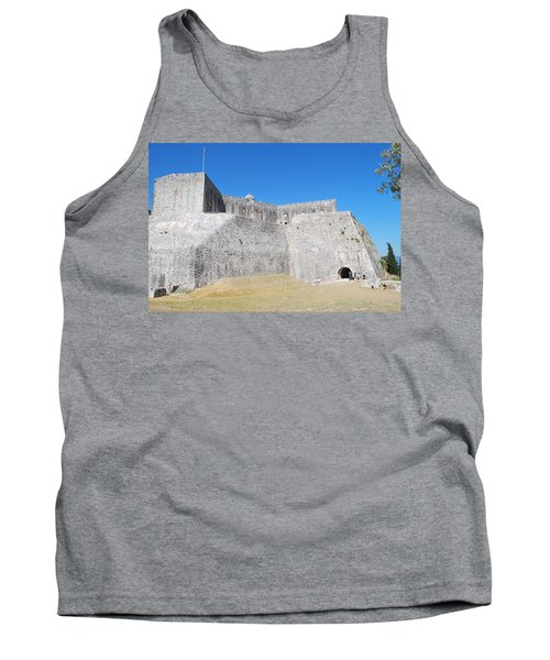 Tank Top featuring the photograph The Fort Never Fell by George Katechis