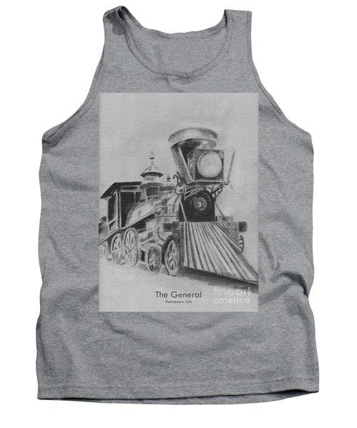 The General - Train - Big Shanty Kennesaw Ga Tank Top