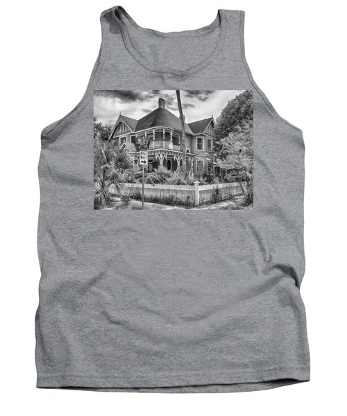 Tank Top featuring the photograph The Gingerbread House by Howard Salmon