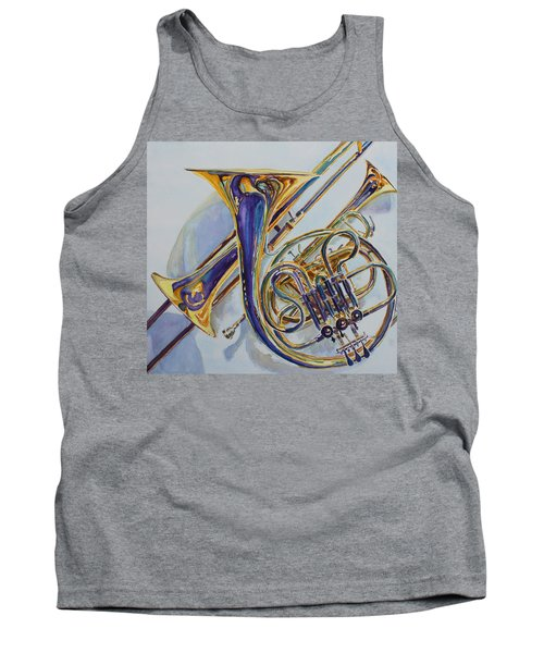 The Glow Of Brass Tank Top
