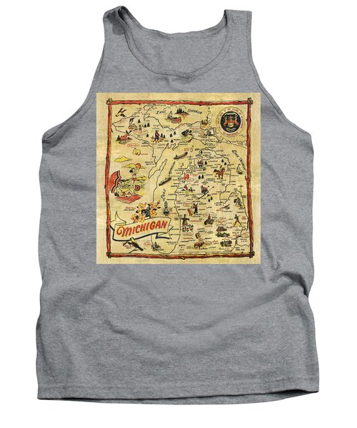 The Great Lakes State Tank Top by Michelle Calkins