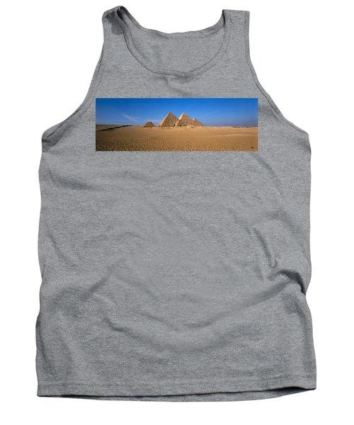 The Great Pyramids Giza Egypt Tank Top