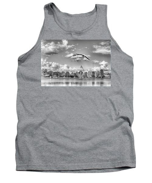 Tank Top featuring the photograph The Gull by Howard Salmon
