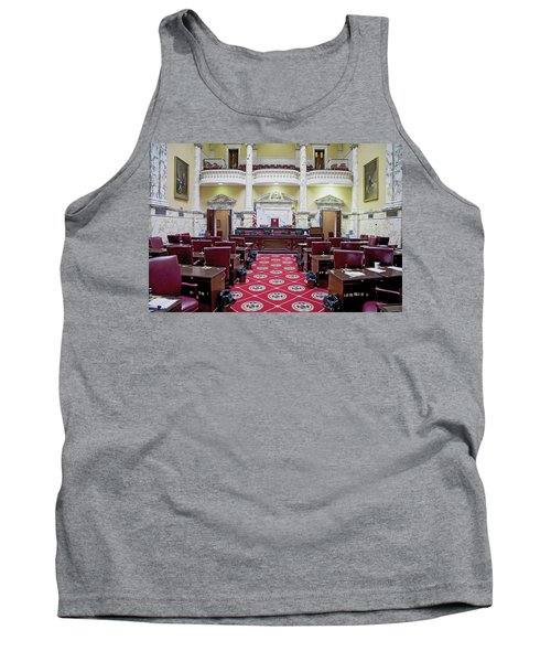 The Historic House Chamber Of Maryland Tank Top