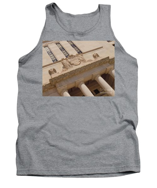 Tank Top featuring the photograph The Historical Federal Reserve Bank Of Dallas by Robert ONeil