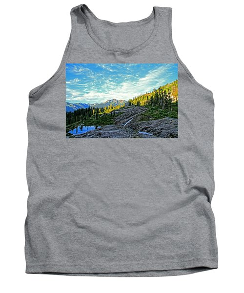 Tank Top featuring the photograph The Hut. by Eti Reid
