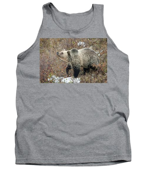 Tank Top featuring the photograph The Last Berry by Jack Bell