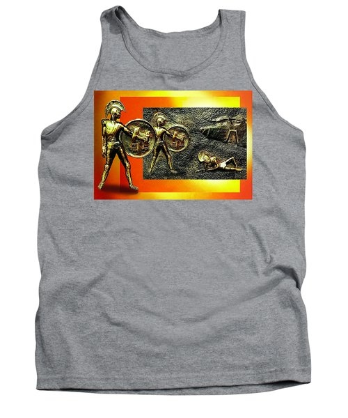 Tank Top featuring the relief The Legends Of Troy. . .  by Hartmut Jager