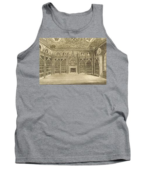The Library, Engraved By Godfrey Tank Top