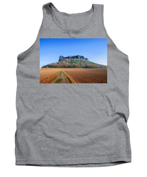 The Lilienstein On An Autumn Morning Tank Top