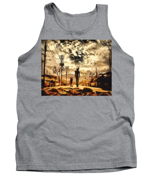The Lone Wanderer Tank Top by Joe Misrasi