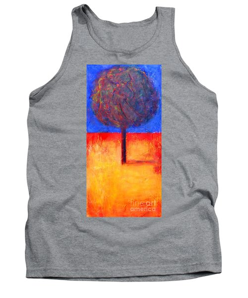 The Lonely Tree In Autumn Tank Top