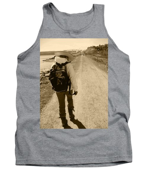 The Long And Winding Road Tank Top by Kym Backland