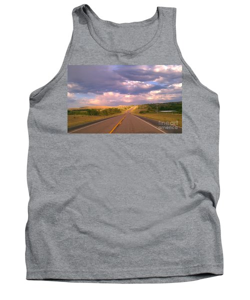 The Long Road Home Tank Top by Chris Tarpening