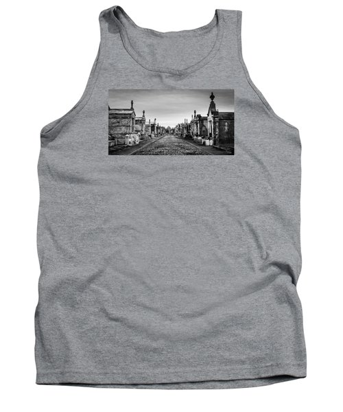 Tank Top featuring the photograph The Metairie Cemetery by Tim Stanley