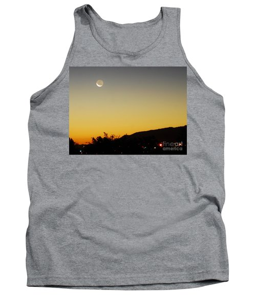 Tank Top featuring the photograph The Night Moves On by Angela J Wright
