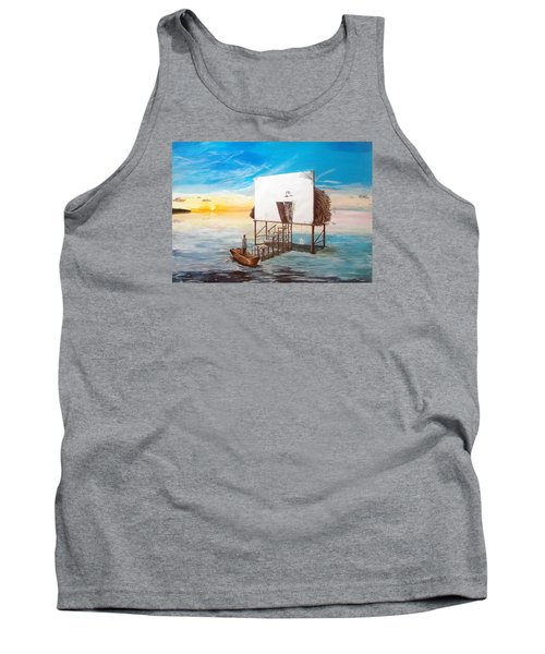 The Occult Listen With Music Of The Description Box Tank Top