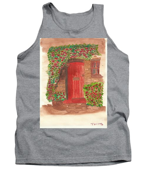 The Orange Door Tank Top