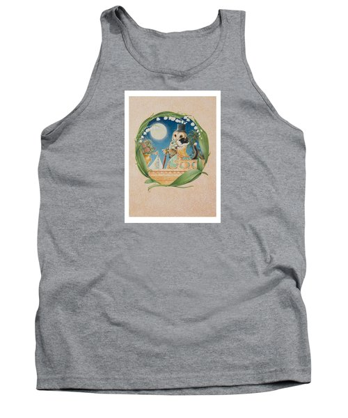 The Owl And The Pussycat Tank Top