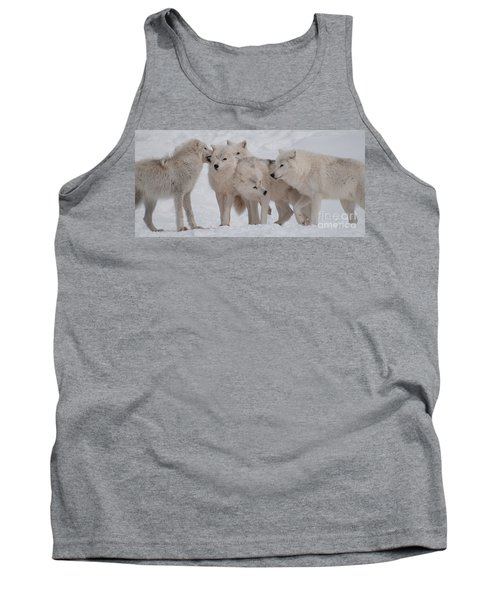 Tank Top featuring the photograph The Pack by Bianca Nadeau