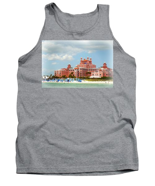 The Pink Palace Tank Top by Valerie Reeves
