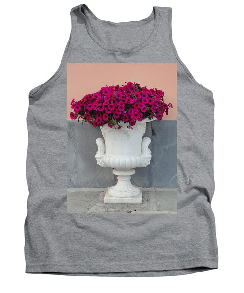 Tank Top featuring the photograph The Planter by Natalie Ortiz