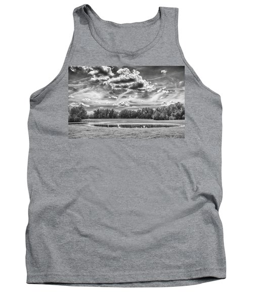 Tank Top featuring the photograph The Pond by Howard Salmon