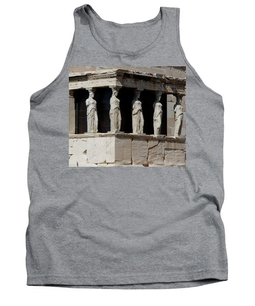The Porch Of Maidens Tank Top