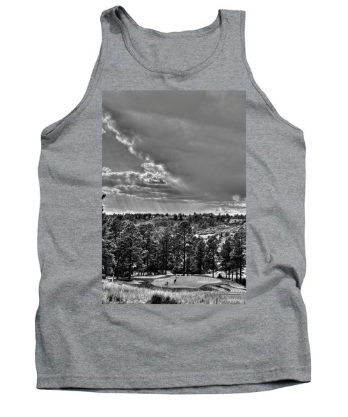 Tank Top featuring the photograph The Ridge Golf Course by Ron White