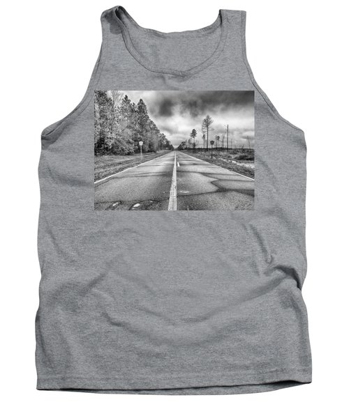 Tank Top featuring the photograph The Road Less Traveled by Howard Salmon