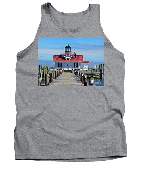The Roanoke Marshes Lighthouse  Tank Top