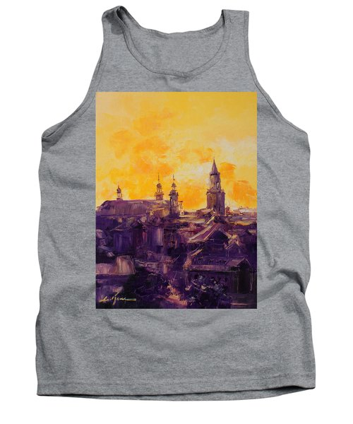 The Roofs Of Lublin Tank Top